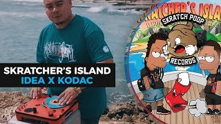 dj idea x kodac visualz present skratchers island portablist scratch video