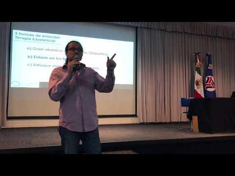 Dr. Yaqui Andrés Martínez   Qué es la Terapia Existencial y sus orientaciones .