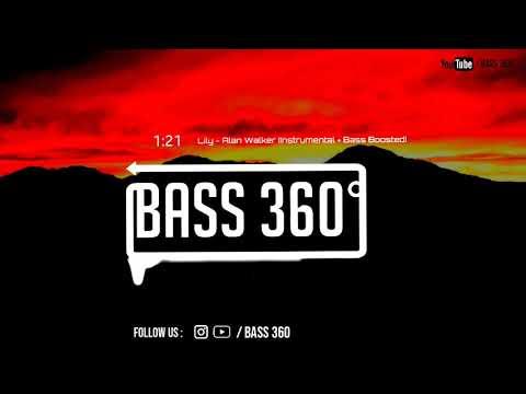 Alan Walker - Lily (Instrumental + Bass Boosted) + Download link - (NCS) - Bass 360