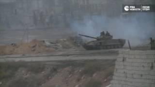 Сирийская армия отбила атаку террористов в восточном Алеппо