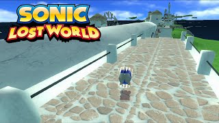 Sonic Lost World - Wii Unleashed Porting Test