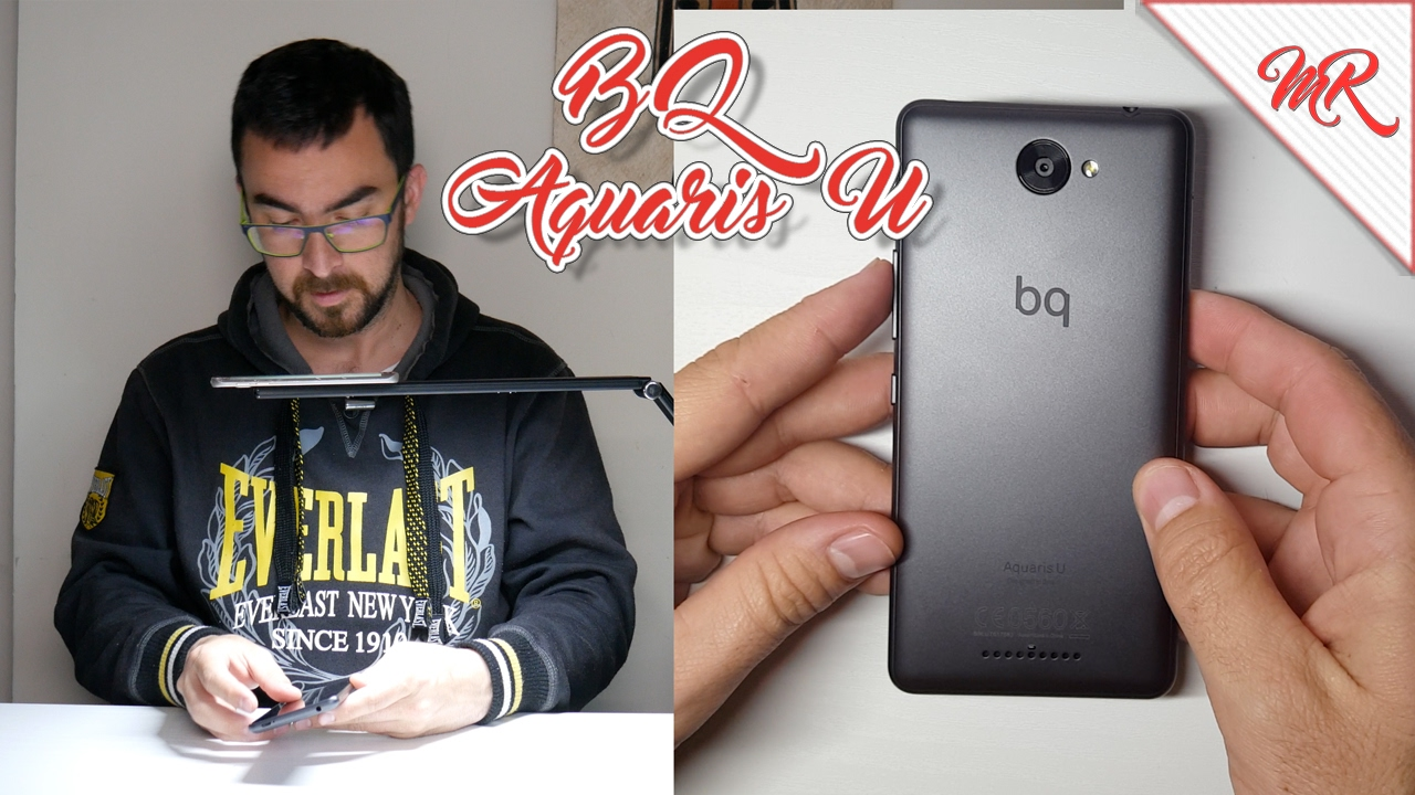 BQ Aquaris U ◊ Unboxing en Español ◊ Marcos Reviews - YouTube