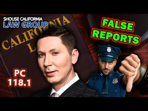 Cops file false reports on you? How to get THEM busted
