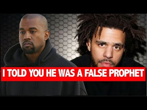"J Cole Reveals How Kanye West Is A ""False Prophet""  Everything Around Him Is Fake- Cole"