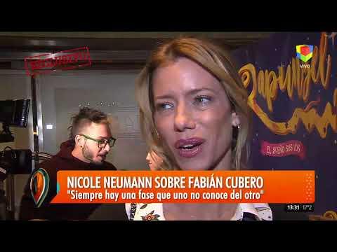 Nicole Neumann habló sobre su nuevo novio y tiró un palito para Cubero