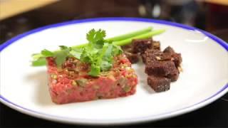 Тартар из говядины. Сырое мясо. Мужская еда от Василия Емельяненко