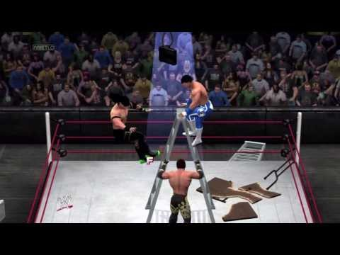 WWE 2K14 Online Match (#5) Tables Ladders and Chairs