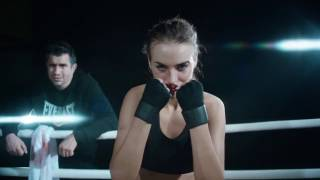 women boxing motivation - actress Ekaterina Vladimirova
