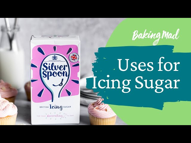 Silver Spoon Icing Sugar in 3 Ways