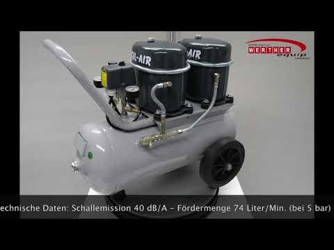 Sil-Air 100-24 Flüsterkompressor (silent compressor)