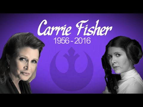 """""""I'm afraid that if I stop writing I'll start feeling."""" - Carrie Fisher from YouTube · Duration:  1 minutes 34 seconds"""
