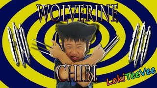 How to draw Wolverine Chibi - episode 8