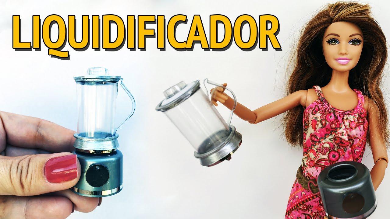 Como Fazer Liquidificador Para Barbie E Outras Bonecas Youtube