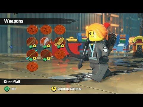 Creating Custom Characters gameplay - LEGO Ninjago Movie Videogame