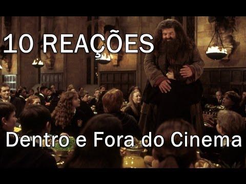 10 Reações de fãs de Harry Potter Dentro e Fora do Cinema