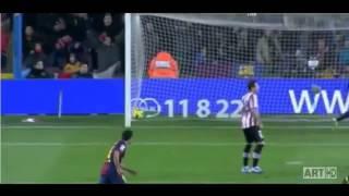 اهداف مباراة برشلونة 5-0 اتلتكو بلباو 1/12/2012