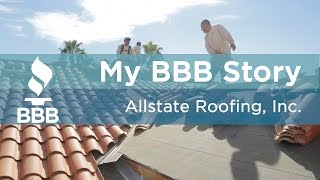My BBB Story: Allstate Roofing, Inc.