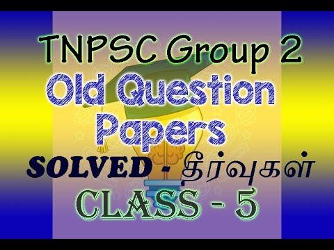 Tnpsc Group 2a Syllabus In Tamil 2013 Pdf