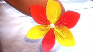 #Paperflower  Paper Flower | paper flowers | paper craft | Hand made in Bangla | paper flower making