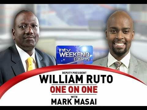 Deputy President William Ruto full interview on NTV part 1