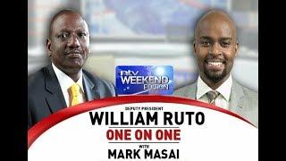 Deputy President William Ruto full interview on NTV part 1