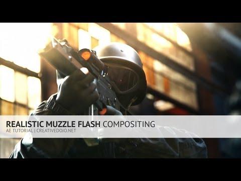 AE: Realistic Muzzle Flash Compositing