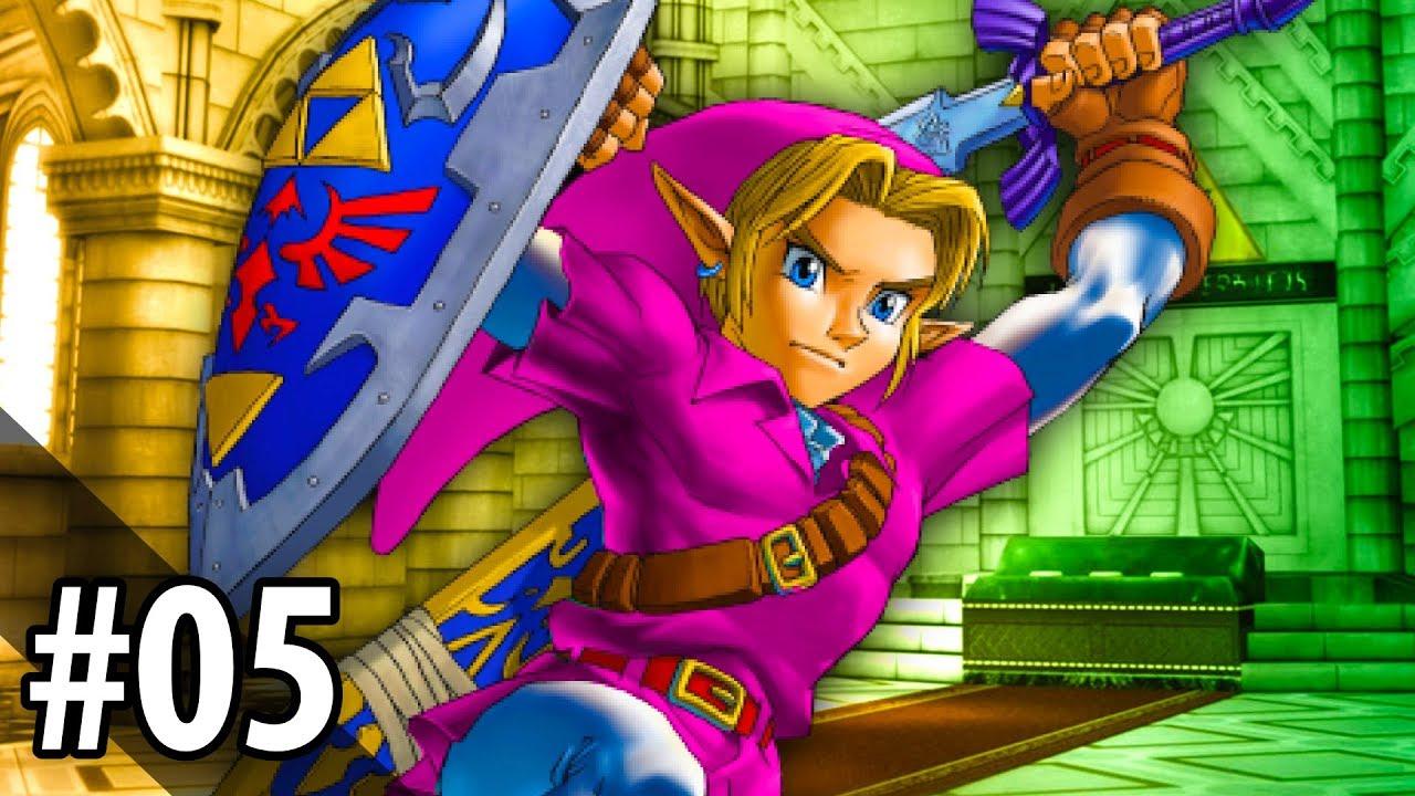 Zelda: Ocarina of Time Randomizer #5 — The BEST Random Tunic Color!!