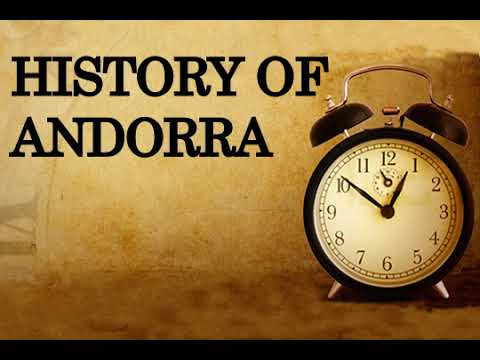 History of Andorra
