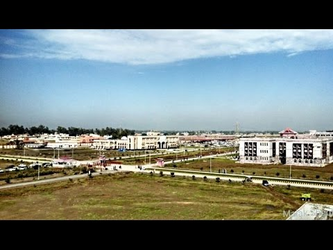 Abdulwali khan university view from the top (Awkum)