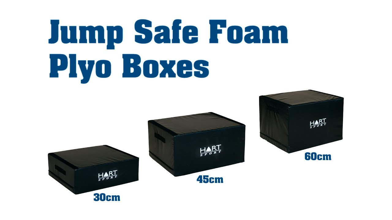 Jump Safe Foam Plyo Boxes Youtube