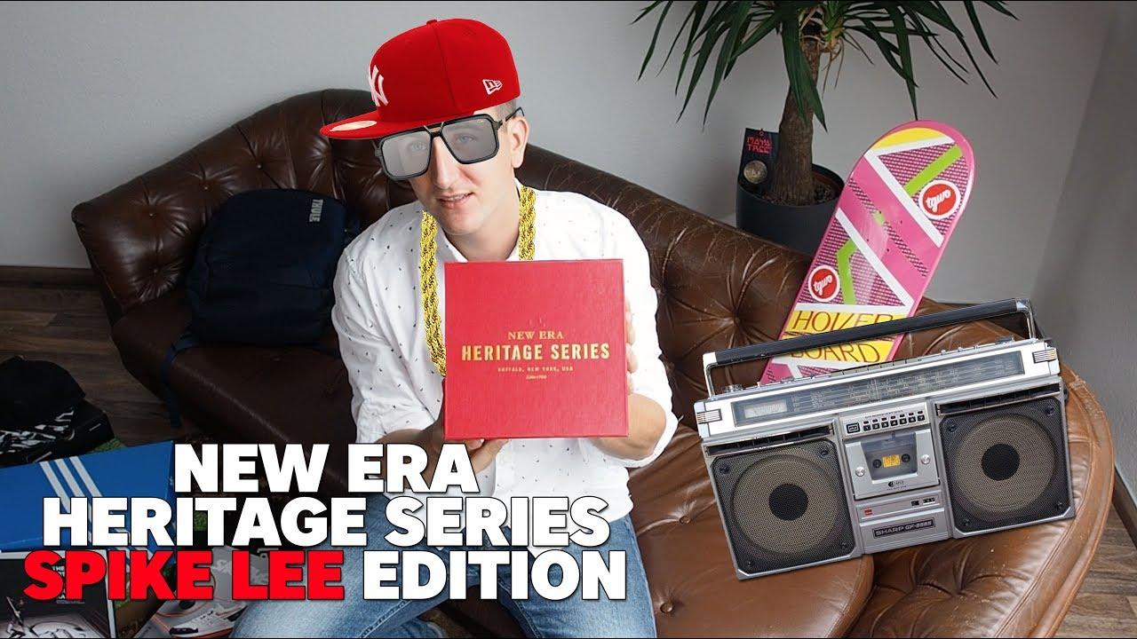 Spike Lee x New Era Heritage Series NY Yankees Cap - YouTube f6e4f65435e