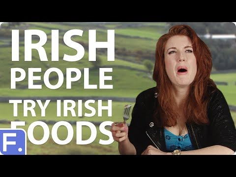 Irish People Try Stereotypical Irish Foods