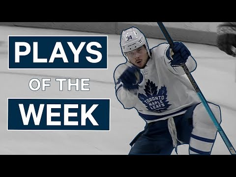 NHL Plays of The Week: Week 9 Edition - Auston Matthews Returns and McDavid Speeds By Vegas