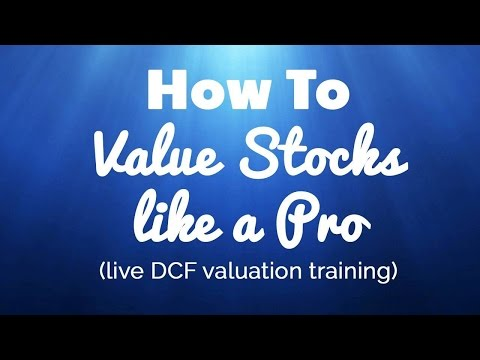 Value Stocks like a Pro (Buffett Style DCF to Value Businesses)