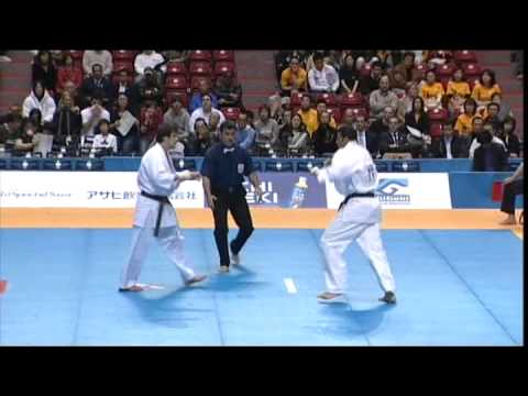 9 World Open Championship Kyokushinkai Karate 2007. Block A-B, 1-3 Round