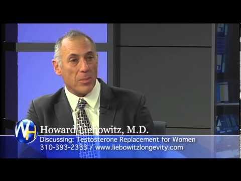Testosterone Treatment for Women, Dr. Howard Liebowitz, Santa Monica, Longevity Medicine