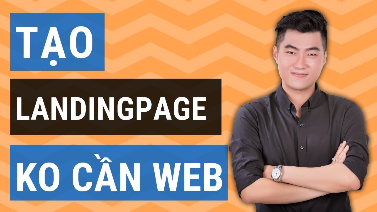 Cách tạo Landingpage mà không cần website với Getresponse