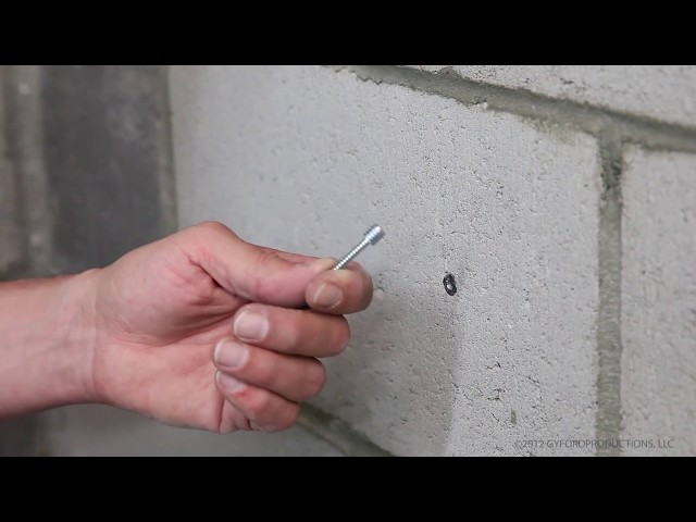 How To Mount into Concrete (HD-CA4)