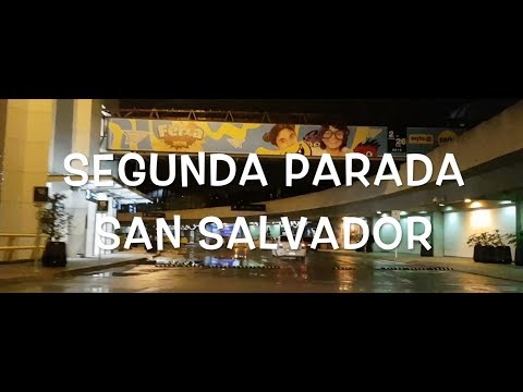 SEGUNDA PARTE SAN SALVADOR. HOLIDAYS ENERO 2018.