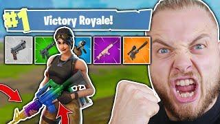 THE RAINBOW GUN CHALLENGE!! - FORTNITE BATTLE ROYALE!! thumbnail