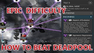 EPIC DIFFICULTY HOW TO BEAT DEADPOOL FINALBOSS LOVE IS A BATTLERELM 3 marvel contest of champion