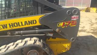 2007 New Holland C175 Compact Tracked Skid Steer Loader For Sale Inspection Video!