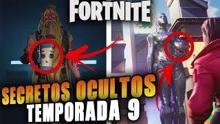 SECRETOS OCULTOS Y EASTER EGGS DE LA *TEMPORADA 9* FORTNITE