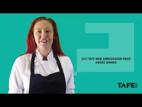 Megan Higgison - Alumni - TAFE NSW Ambassador Prize - Commercial Cookery