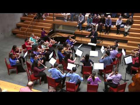 Ernest Bloch: Concerto Grosso #1 for String Orchestra with Piano Obbligato