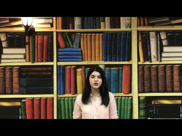 Изображение предпросмотра прочтения – АминаИсмаилова читает произведение «Прощание» В.В.Маяковского
