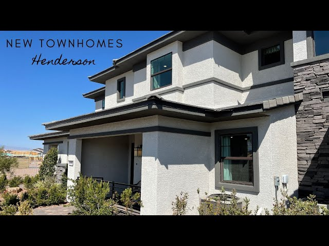 Townhomes For Sale Henderson | $326k+ 3Bd, 2Ba, 1,376sf | Avery Place Cadence | Unit B Tour