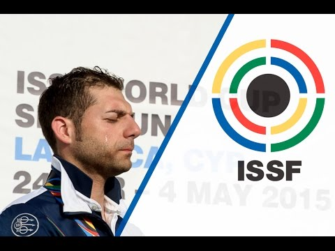 Interview with ANTONINO BARILLA' (ITA) - ISSF Shotgun World Cup 2015 in Larnaca (CYP)