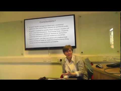 Reflections on Politics and Violence: Kimberly Hutchings (LSE) and Elizabeth Frazer (Oxford)