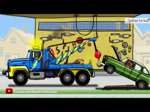 การ์ตูนรถยก ภารกิจรถยก ช่วยรถเสีย รถติดหล่ม [ วีดีโอสำหรับเด็ก] Excavator kids